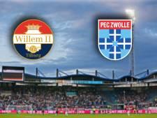 Komen Willem II en PEC Zwolle eindelijk weer eens tot scoren tegen elkaar?