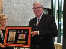 Medailles van Captain Ellis zijn terug op de plek waar hij in 1944 overleed