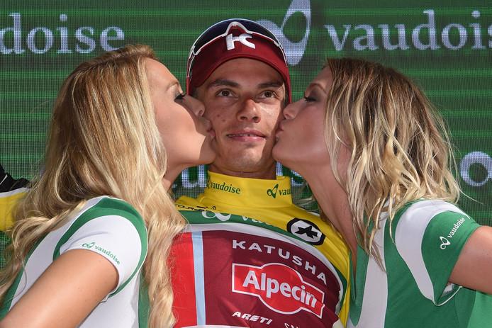 Simon Spilak won de Ronde van Zwitserland.