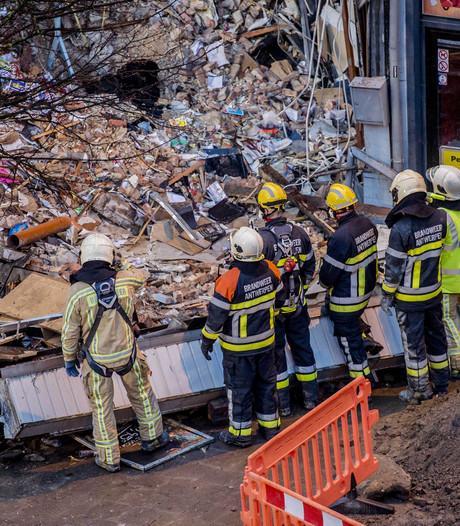 Twee doden gevonden onder ingestort gebouw Antwerpen