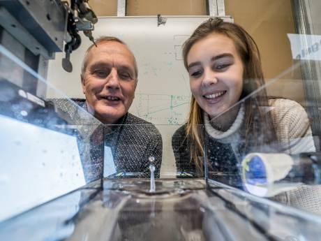 Uitvinder Van Rijn baanbrekend bezig met druppeltechnologie