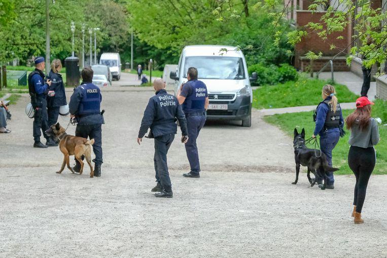 Peterbos politie actie