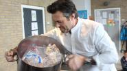 """VIDEO. Sergio Herman maakt soep van ... plastic in schooltje van zijn kinderen: """"Problematiek verder onder de aandacht brengen"""""""