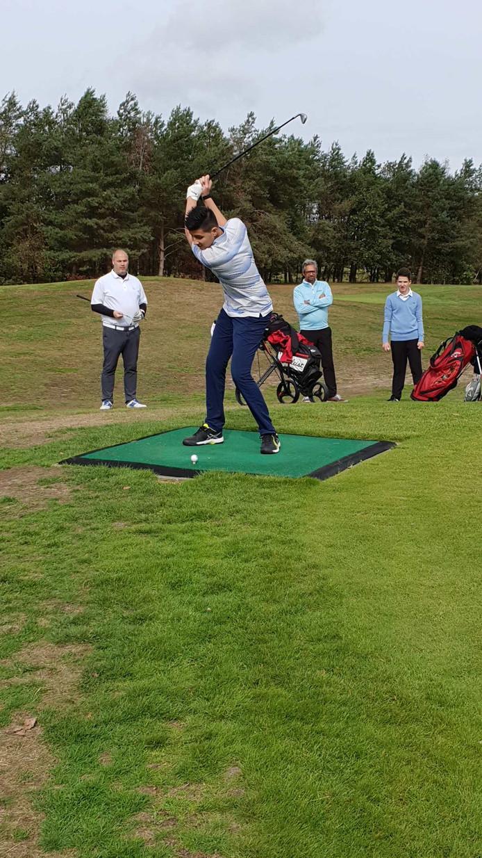 G-Golfer in actie