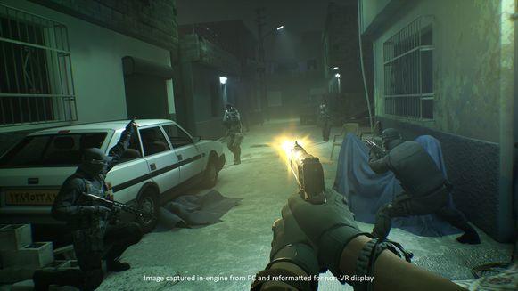 Een ware shooter in VR: dat is Firewall: Zero Hour.