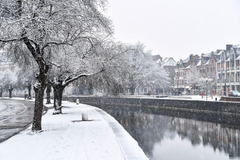 Het centrum van Dendermonde.