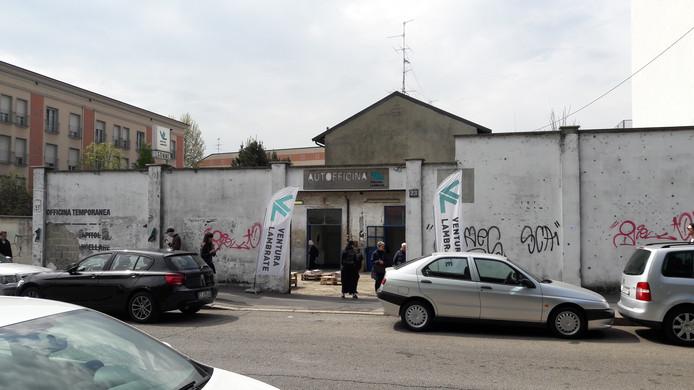 De expo-ruimte van Thier & Van Daalen in Milaan