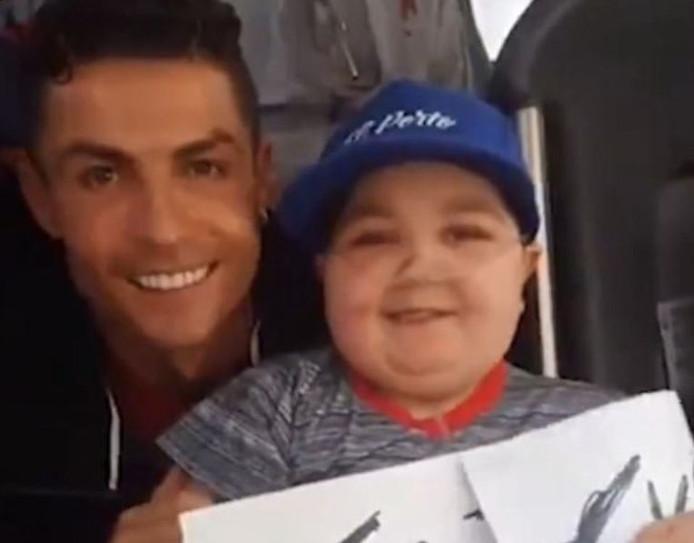 Cristiano Ronaldo et Eduardo Moreira
