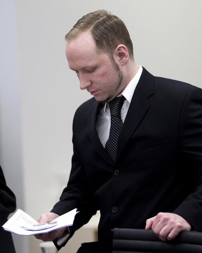 Breivik vandaag in de rechtbank