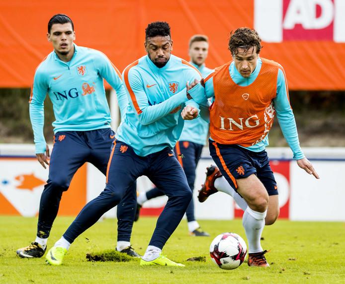 Jürgen Locadia zat al een paar keer bij de Oranje-selectie, maar maakte zijn debuut nog niet.