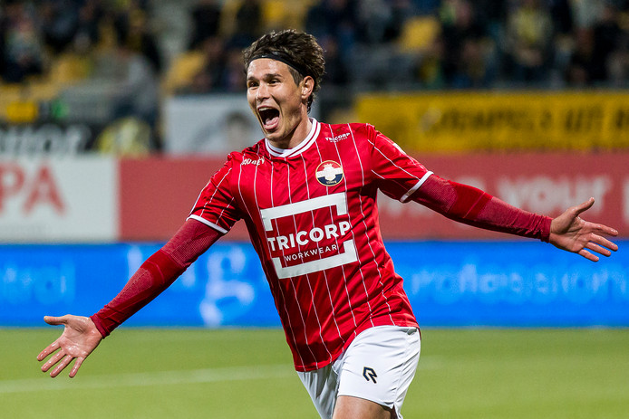 Etien Velikonja heeft gescoord voor Willem II tegen Roda JC.
