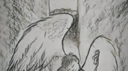 Hele wereld maakt ontroerende tekeningen voor peuter Julen