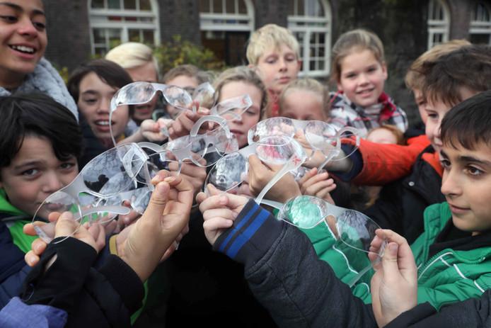 Leerlingen van basisschool De Muze hebben de vuurwerkbril al gehad.