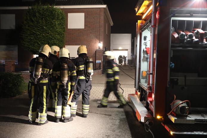 Een brand bracht het drugslab aan de Koolzaadweg in Berghem aan het licht.