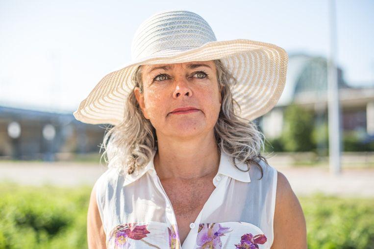 Volgens Claire Felicie van No Chateau heeft Nederland een ideaal klimaat voor een wijngaard. Beeld Eva Plevier