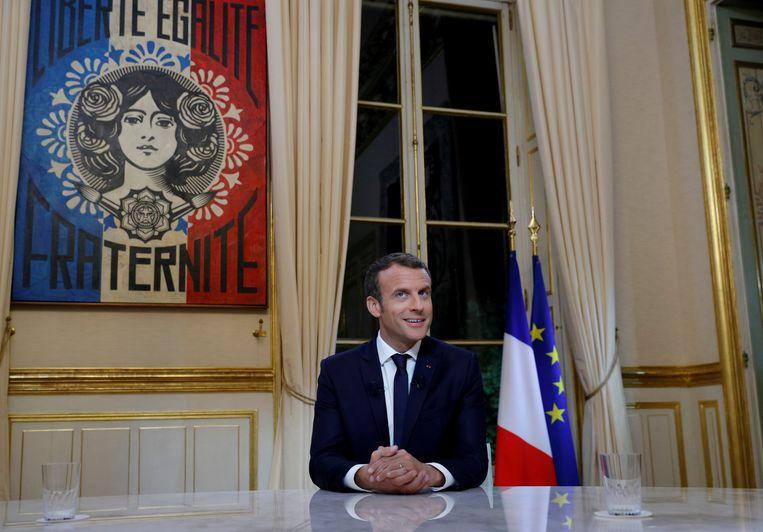 Emmanuel Macron Beeld REUTERS