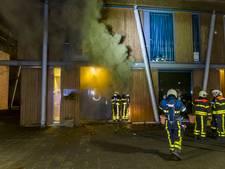 Forse schade bij brand in schoonheidssalon in Oosterhout