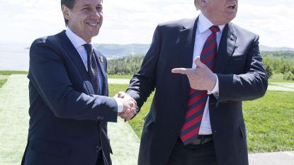 Trump wil Rusland terug bij G7 en vindt maatje in Italiaanse premier