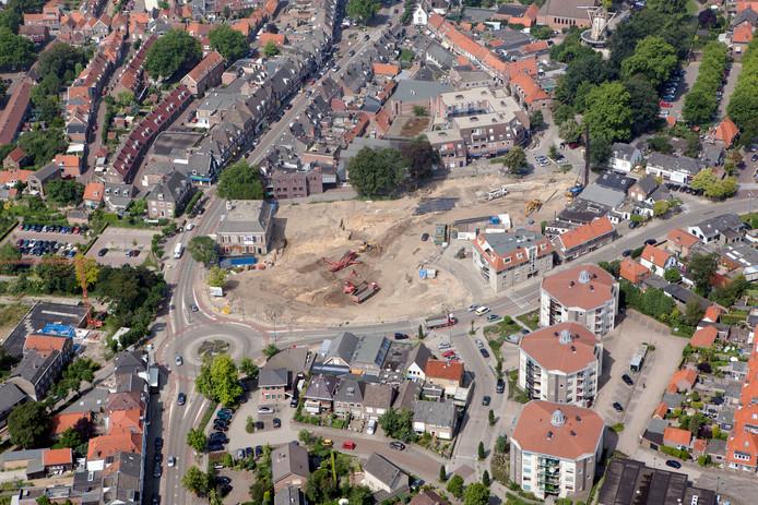 De rotonde aan de voet van de Nieuwe Veenendaalseweg is voor veel fietsers een 'spannende' rotonde.