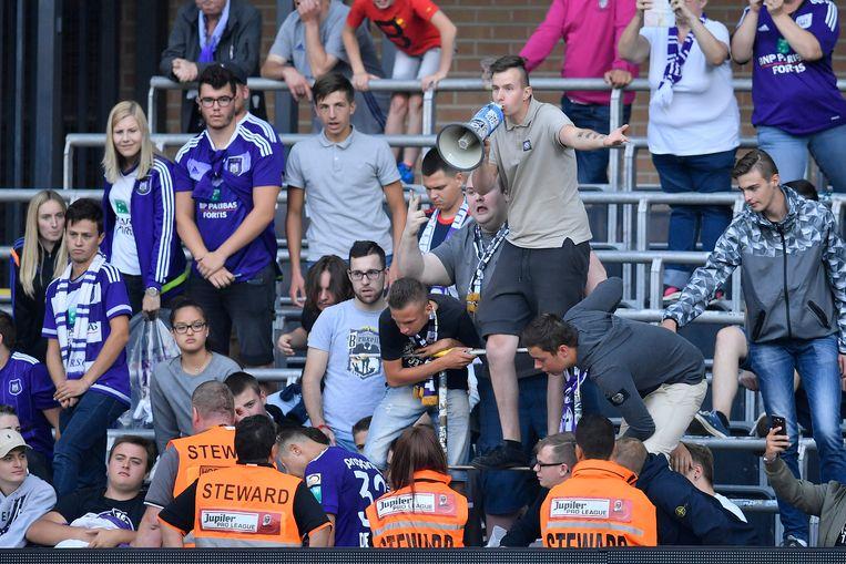 De strenge voorwaarden zorgden voor een boycot bij de Anderlecht-supporters.