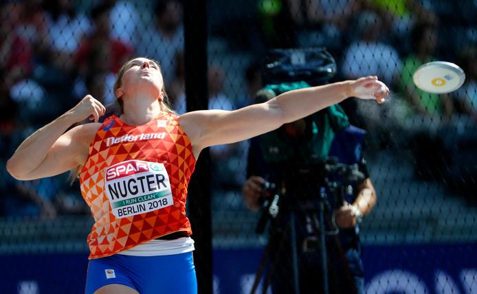 Corinne Nugter is sinds 2013 onafgebroken nationaal kampioene discuswerpen.