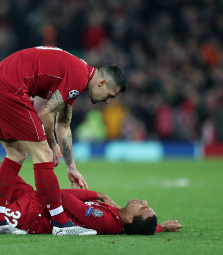 Liverpool ziet Matip wegvallen met gebroken sleutelbeen