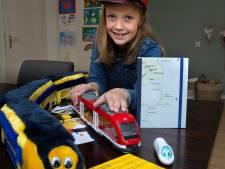 Grote wens komt uit voor jonge treinfan Fabiënne (9) uit Winterswijk