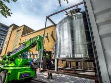 'Brouwgeweld' aan de Piushaven: kolossale ketels voor opening Stadsbrouwerij 013