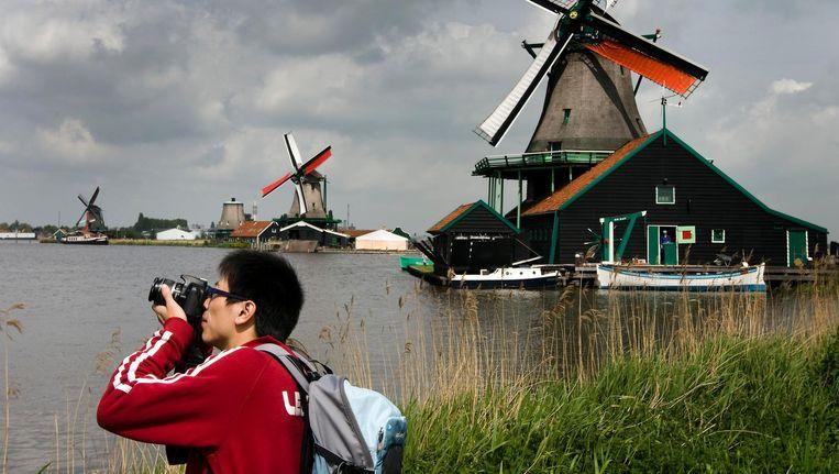 De Zaanse Schans ontvangt nu al tot 2 miljoen bezoekers per jaar, over tien jaar zijn dat er 3 miljoen Beeld anp