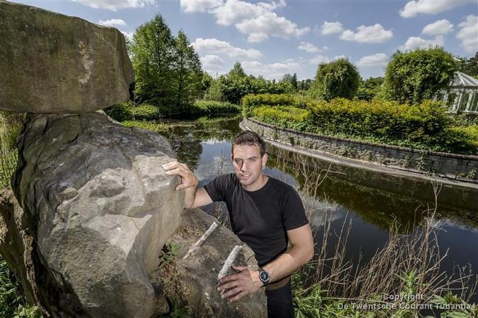 Siemen Bruins, de nieuwe eigenaar van Labyrinth in Boekelo.