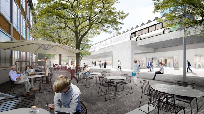 Metamorfose: zo gaat winkelcentrum Zuidplein er in de toekomst ...