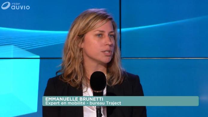Emmanuelle Brunetti, experte de la mobilité en entreprise (bureau Traject)
