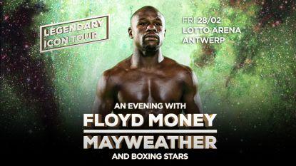 Voor 100.000 euro komt Floyd 'Money' Mayweather in Antwerpen... basketten