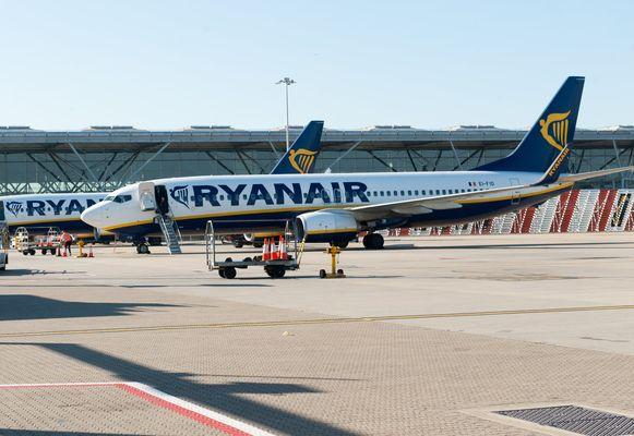 Op 25 en 26 juli staakt het personeel van Ryanair.