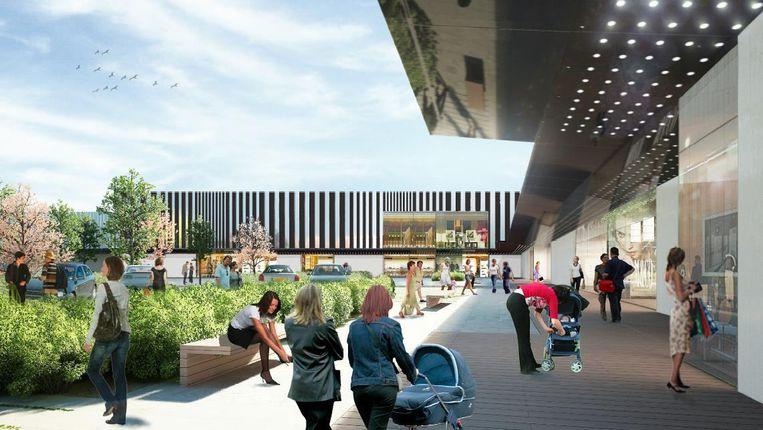 De Promenade de Flandre, aan de snelweg A22 naast hypermarkt Auchan, opent volgende week woensdag.