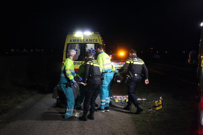 Voetganger gewond in Hulten
