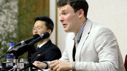 """Ouders gefolterde student: """"Kim Jong-un en zijn duivelse regime zijn verantwoordelijk voor de dood van onze zoon"""""""