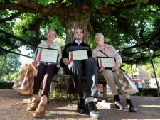 Moeierboompjes voor drie Etten-Leurenaren