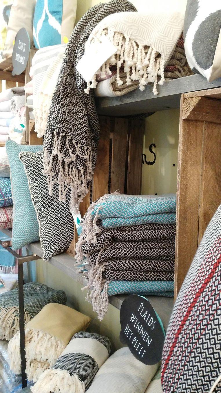 De stijlvolle hamamdoeken van Lieve Van Langenhove.