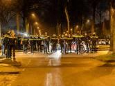 Politie houdt vijf mensen aan die opriepen tot nieuwe rellen