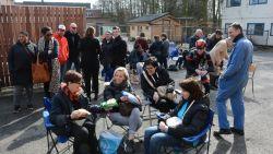 Dan toch weer kamperen voor schoolpoorten door protest Franstaligen in Brussel