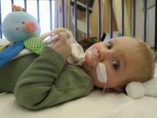 Ongelooflijk: 1,9 miljoen voor medicijn zieke Jayme (1) is binnen! 'We zijn zo dankbaar'