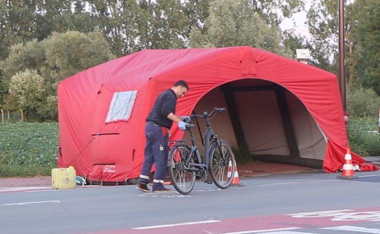 Het slachtoffer verplaatste zich met een elektrische fiets.