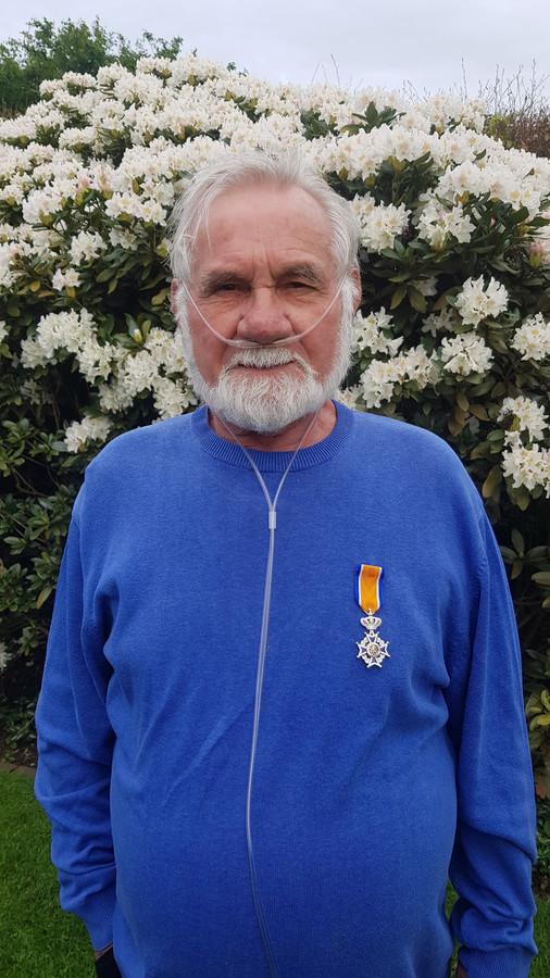 Bert Kissen is benoemd tot Lid in de Orde van Oranje-Nassau.