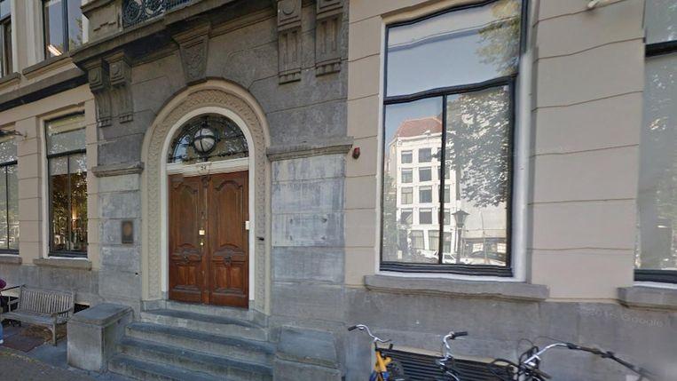 Het huidige pand van de PvdA aan de Herengracht Beeld Streetview