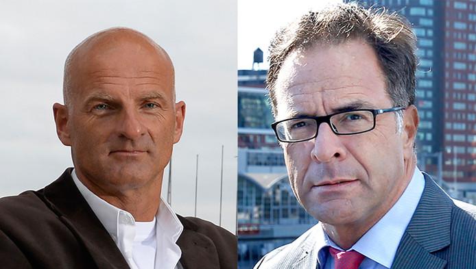 Schneider (links) en Langenberg: 'Wie betaalt de 2,9 miljoen euro?'