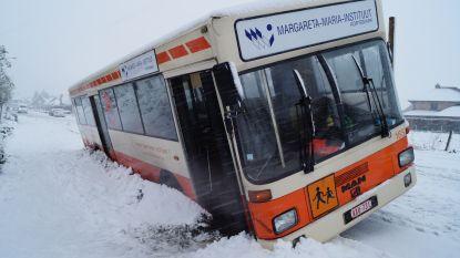 Chaos door hevige sneeuwval: overzicht per PROVINCIE
