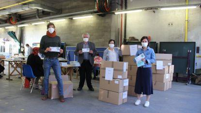 Gratis stoffen mondmaskers voor gemeenten Lennik, Pepingen, Herne en Bever worden binnenkort verdeeld