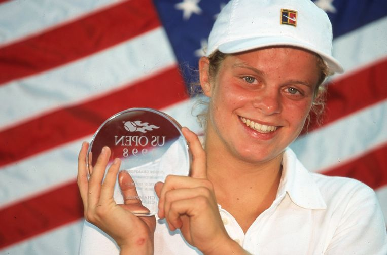 Kim Clijsters 1998 Beeld Dia Archief