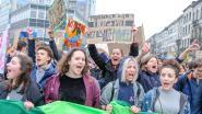 1.500 spijbelaars betogen voor klimaat, slogans nog steeds even orgineel